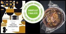 Finalistes du prix Les Saveurs du Canada
