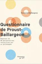 QUESTIONNAIRE DE PROUST-BAILLARGEON